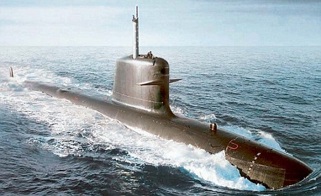The first submarine is expected to be ready in mid-2015 and the last in 2018