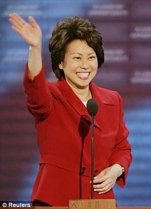 U.S. Labor Secretary Elaine Chao