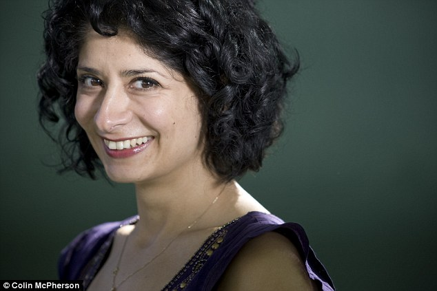 Stand-up comedian Shappi Khorsandi is Iranian-born but does not wear a hijab like many other women from the Islamic republic