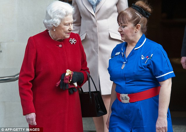 Doctors monitored the Queen very closely before her exit today. They were checking that the 86-year-old was properly hydrated and monitoring her pulse and blood pressure