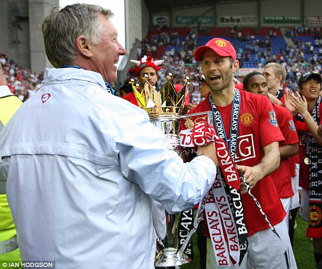 Learning from the master: Sir Alex Ferguson has mentored Giggs every step of the way