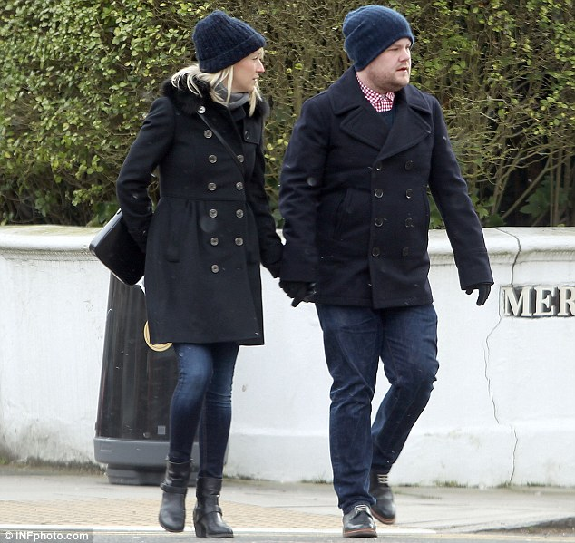 James Corden Looks Exhausted As He Steps Out With Wife
