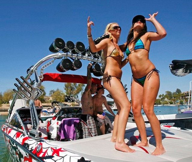 Trashiest Spring Break Destinations Las Vegas Topped The List With South Padre Island