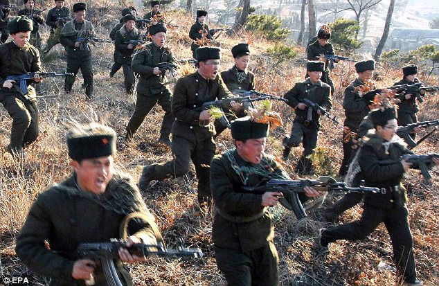 Attack! The North Korean army has repudiated the ceasefire it signed with the South after the Korean War
