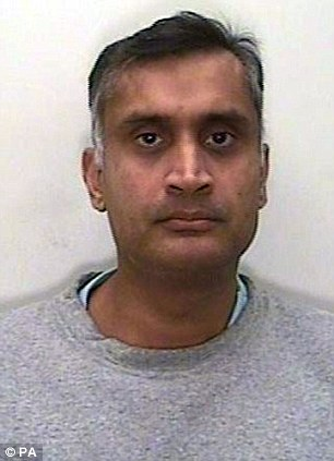 Sexual predator: Dr Davinderjit Bains used his James Bond-style wristwatch to film himself abusing female patients
