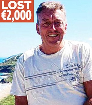Worry: Steve Carr, a financial advisor originally from York, has been living in the coastal city of Limassol for 24 years. He said the solution could make the situation worse and personally stands to lose ¿2,000