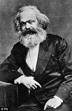 Karl Marx (pictured)