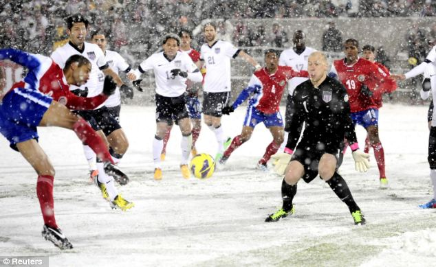 Image result for us costa rica snow game
