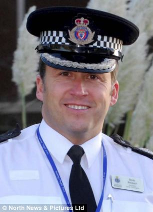 Gone: Derek Bonnard who has been sacked as deputy chief constable of Cleveland Police