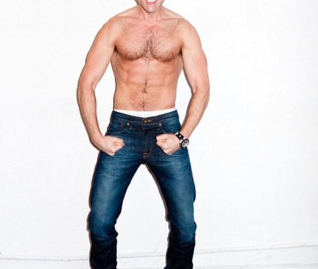 Most Muscular Reality Television Personality Brad Goreski Shows Off His Physique In A New Terry