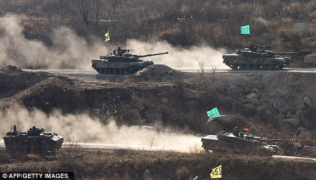 For weeks, the U.S. and South Korea have been showing off their military might with a series of joint exercises that Pyongyang sees as a rehearsal for invasion