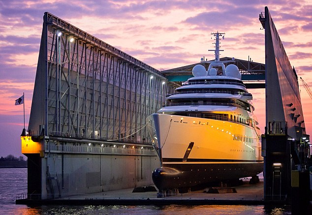 For the playboy who has everything: Azzam the £400m superyacht blows everything else out of the water