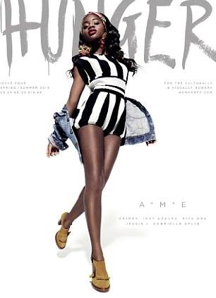 HUNGER magazine cover