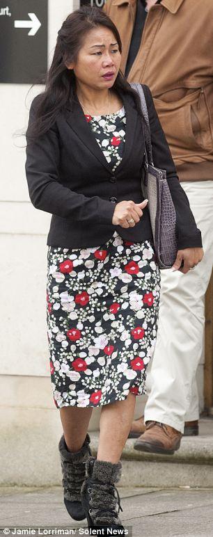 Yowapha Hayball, mother of Robbie,