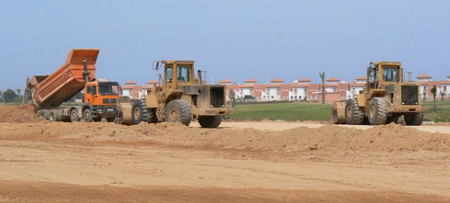 The reality: Work has ground to a halt at Le Jardin de Fleur in Saidia, leaving some British investors disgruntled