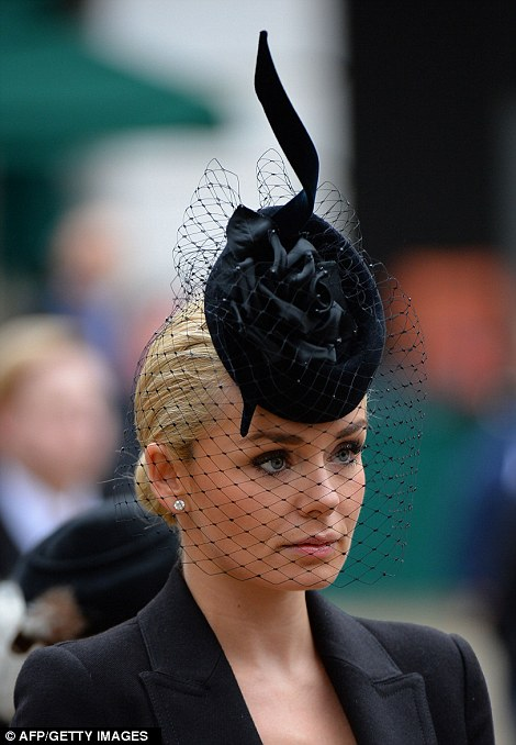 Margaret Thatcher Funeral Fascinators And Pearls Are