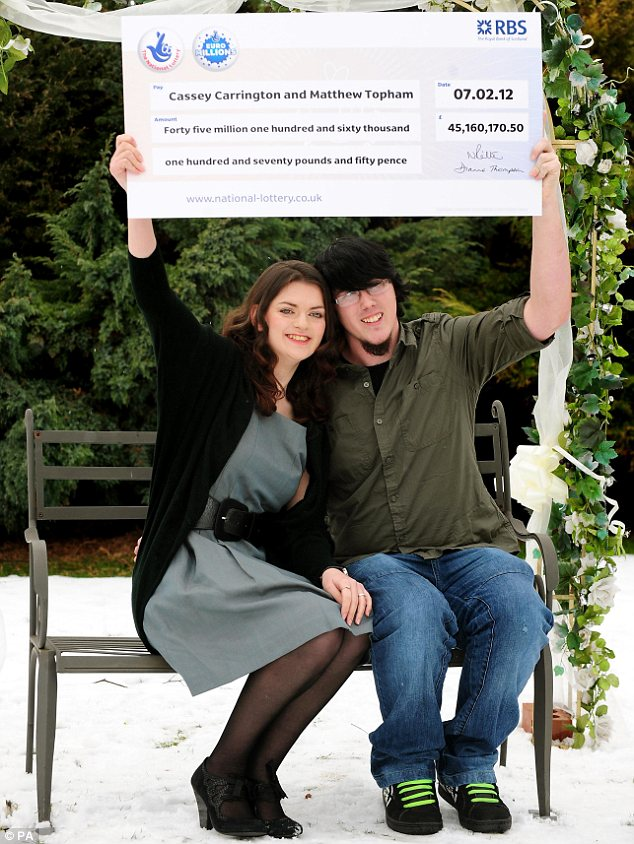Generous: The pair have paid off relatives' mortgages and given millions away to close friends