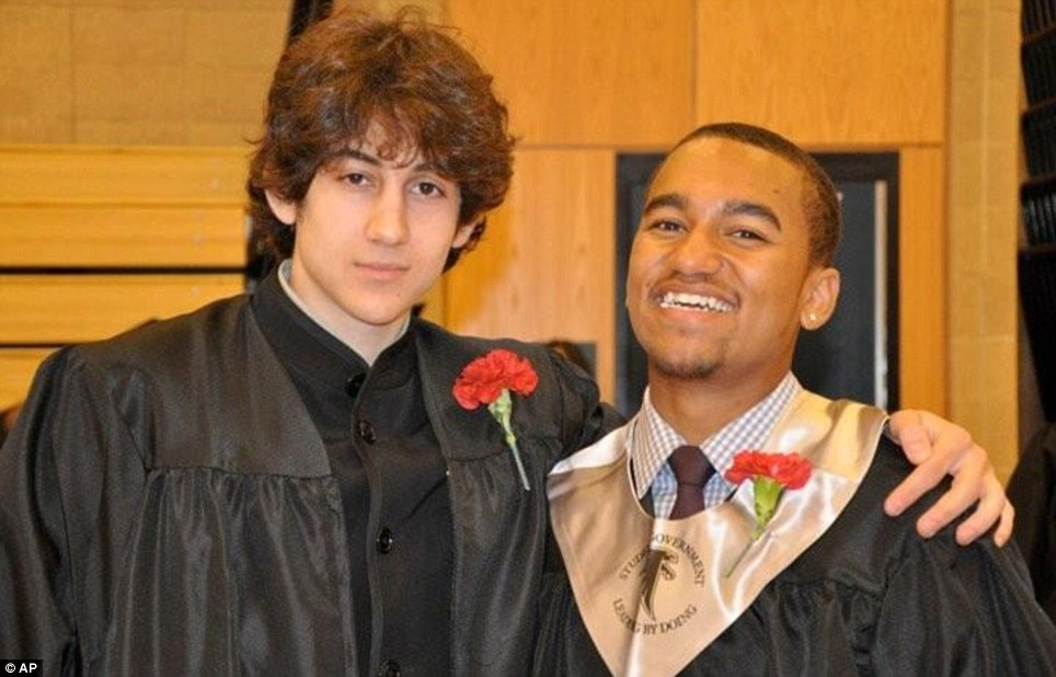Student: Dzhokhar Tsarnaev graduated from his Cambridge high school and was in college studying medicine