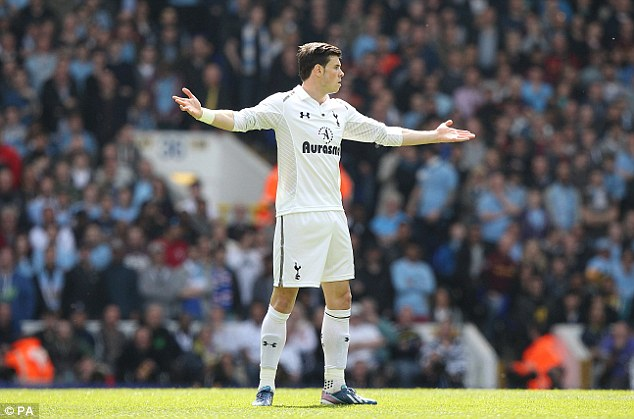 Back in the game: Gareth Bale returned to the Tottenham starting line-up after his injury setback