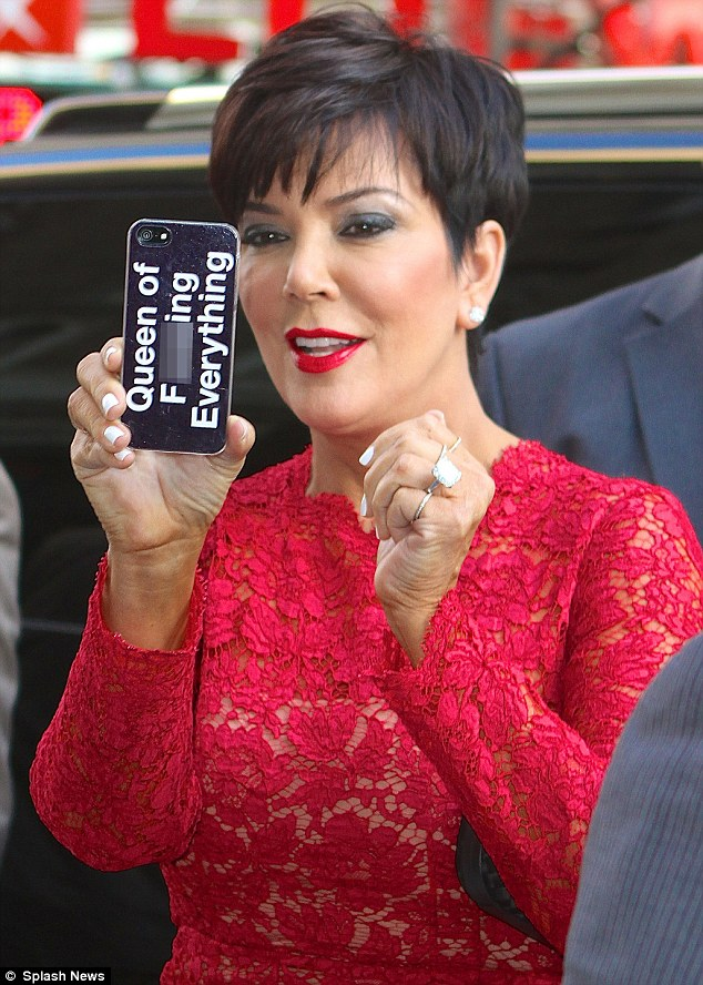 Kris Jenner Haircut 2013