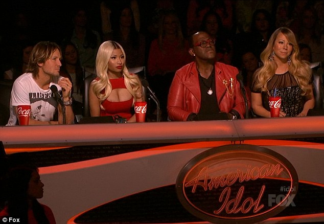 Mariah under fire? The singers judging seat on American Idol was allegedly under question after ratings on the twelfth series of the show took a dive