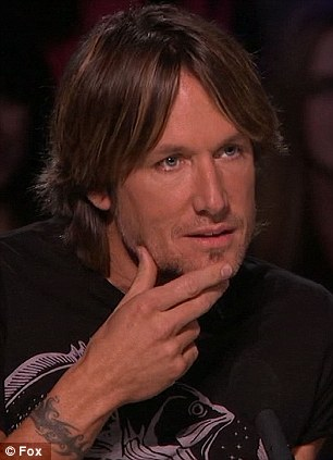 In it to win it: Randy Jackson's passe catchphrase was wheeled out yet again while Keith Urban offered a more subtle critique