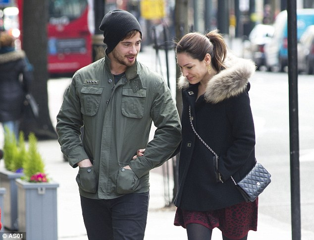 Love match: Cipriani and Kelly Brook rekindled their relationship after splitting up