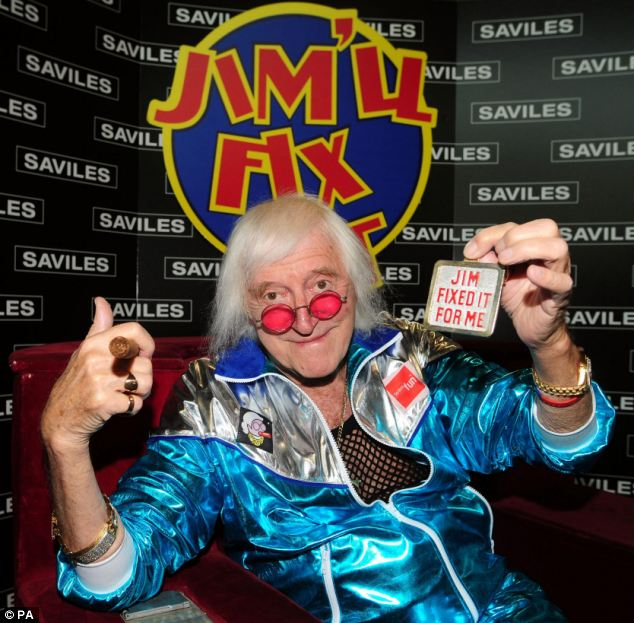 Max Clifford was arrested in December as part of the inquiry sparked by abuse allegations against Jimmy Savile (pictured)