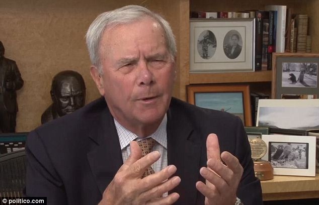 Out of hand: Longtime NBC journalist Tom Brokaw is speaking out about the White House Correspondents' Dinner, saying that it has turned too 'Hollywood'