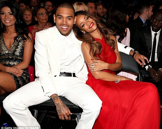 Back on: Chris Brown and Rihanna have rekindled their stormy relationship
