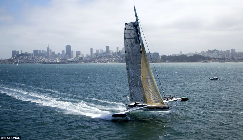 Hydroptere Super Yacht Can Clock 60 Miles An Hour Daily