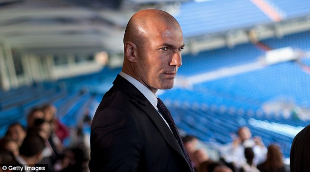 Every player has a price: Zinedine Zidane claims the biggest clubs will not be put off the asking price for Bale