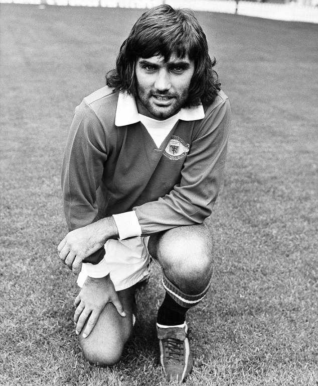 Best of the lot? George Best terrorised defenders for Manchester United and Northern Ireland