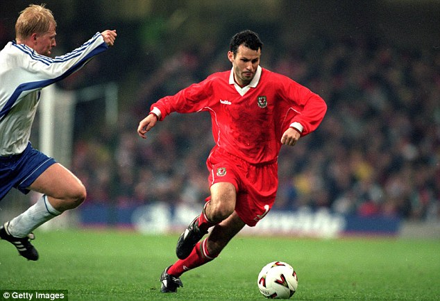 Superstar: Ryan Giggs has excelled for both Wales and Manchester United throughout his illustrious career