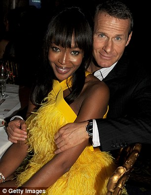 Happier times: Naomi is still expected to invite Vladimir, 50, to her 43rd birthday party on May 22 in Ibiza