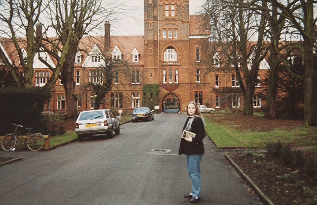 First class degree: Elizabeth chose not to have children, focusing on her career after graduating from Cambridge