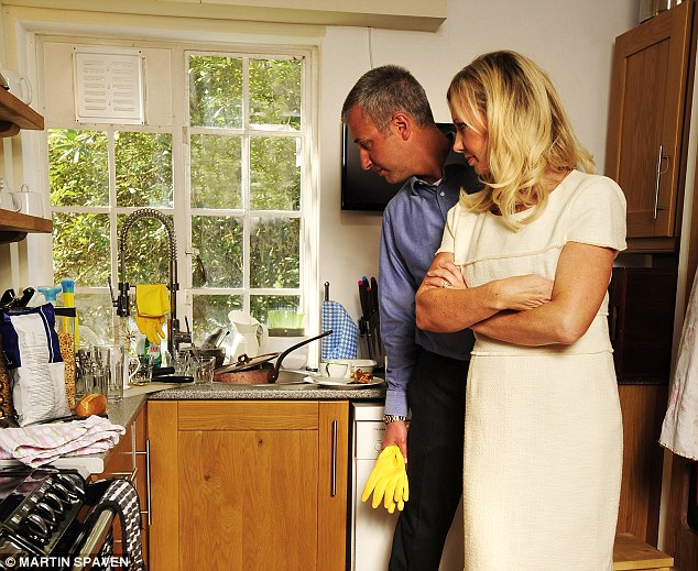 'I have told Max I won't be doing another stroke of work around the house from tomorrow morning'