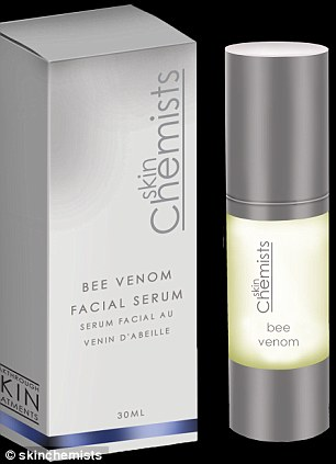 Powerful: Skin Chemist's £135 Bee Venom Facial Serum has had thousands of pre-orders all thanks to Camilla