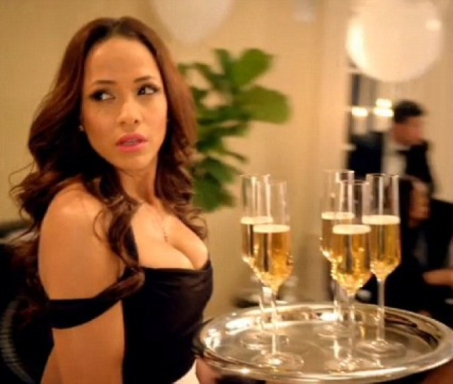 Little Black Dress Dania Ramirez Plays Rosie Who Works As The Housemaid And Nanny For