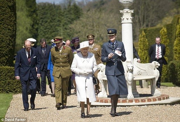 The Queen and the Duke of Edinburgh were visiting Headley Court, the military recovery centre in Surrey