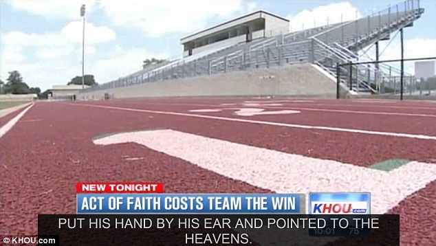 Lost opportunity: Columbus ISD Superintendent Robert O'Connor said the team had won the race by seven yards and that it was their fastest race of the year, but that the decision cannot be appealed