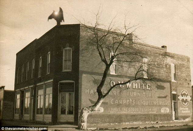 The unsolved mystery of the strange creature has haunted the Iowa town of Van Meter for more than 100 years