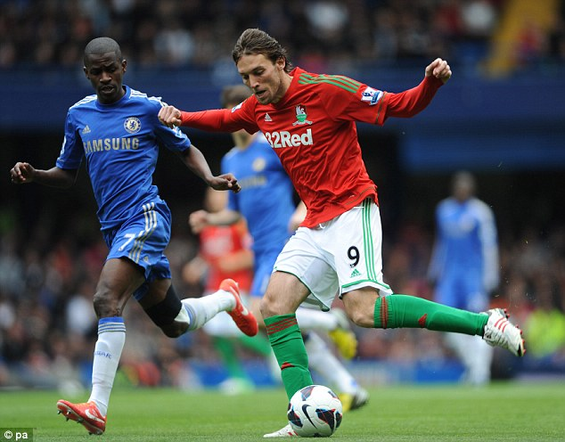 Bargain of the season: Michu cost Swansea just £2m from Rayo Vallecano