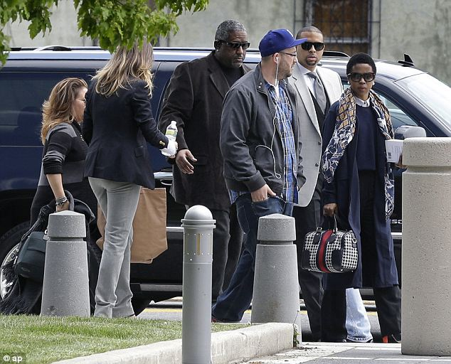 Hill could have been sentenced to up to a year. She arrived in court with an impressive entourage