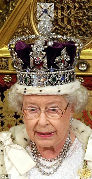 The Imperial State Crown weighs over 2lb and contains 3,000 gems