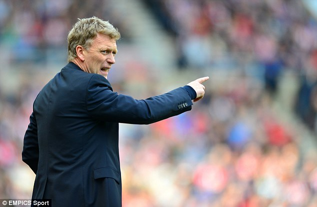 Waiting in line: Moyes is expected to take over from Ferguson