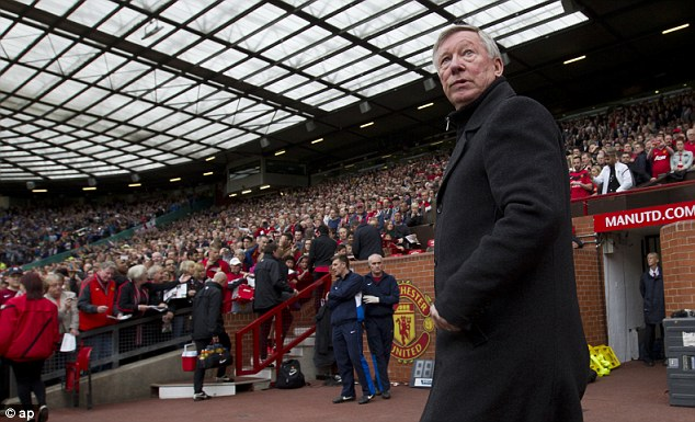Walking away: Sir Alex Ferguson announced he will retire at the end of the season