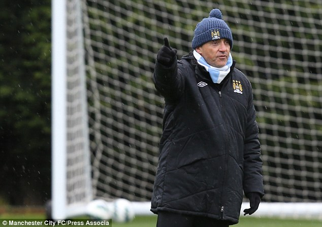 New ruler: Roberto Mancini will look to capitalise on Ferguson's departure