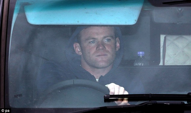 Speculation: Wayne Rooney could be leaving United this summer, with Chelsea and PSG ready to pounce