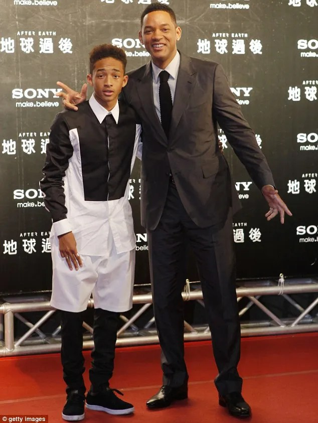 Image result for jaden smith 18yrs birthday will smith message